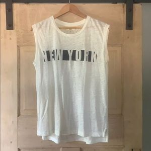 Madewell New York muscle tee
